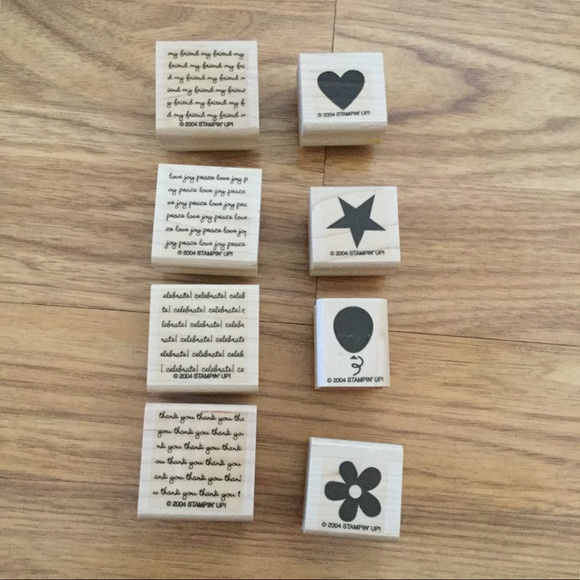 Stampin' Up! Two-Step Stampin Mini Messages Stamps